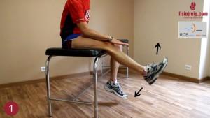 ejercicio de recuperación para cuádriceps