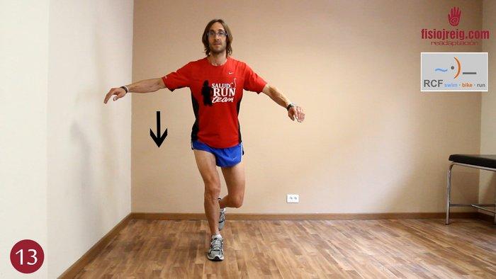 ejercicio rehabilitación tobillo