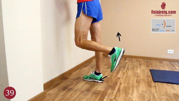 Ejercicio movilidad rodilla