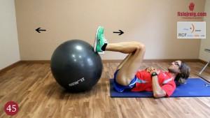 Ejercicio flexoextensión de rodilla