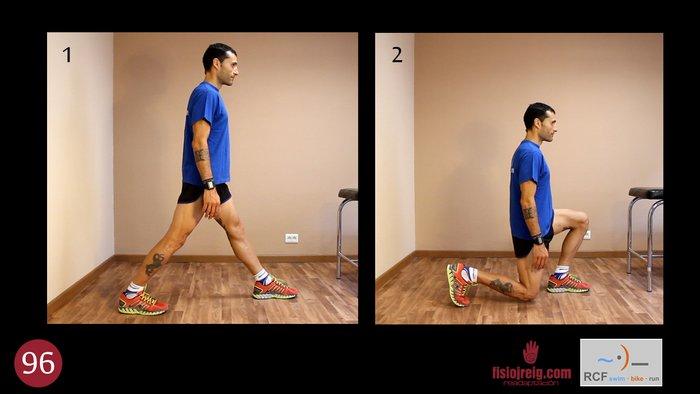 Ejercicio squat para rodilla