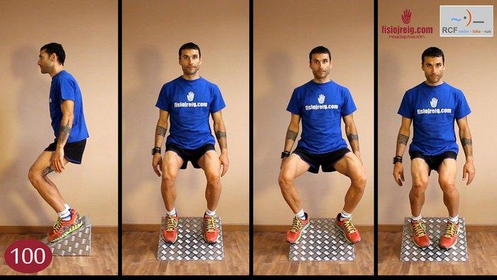 Potenciación rodillas en rampa