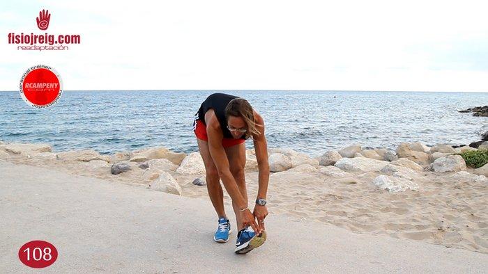 Estiramiento biceps femoral