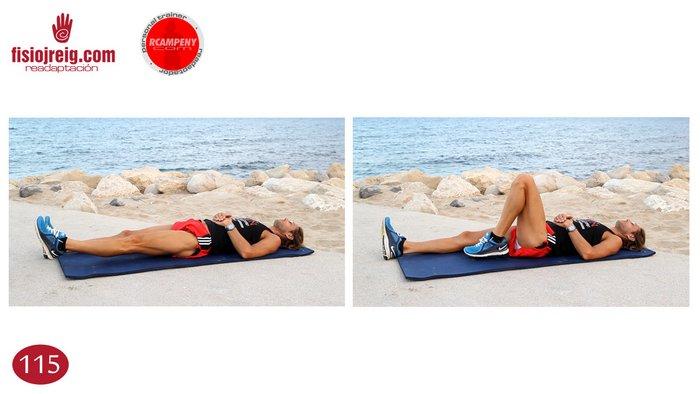 Ejercicio flexibilidad de cadera