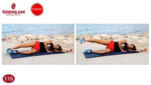 Ejercicio estabilidad de cadera
