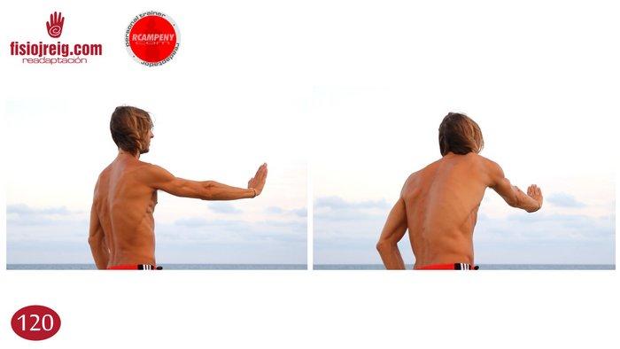 Estiramentos dorsales