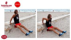 Ejercicio potenciación triceps