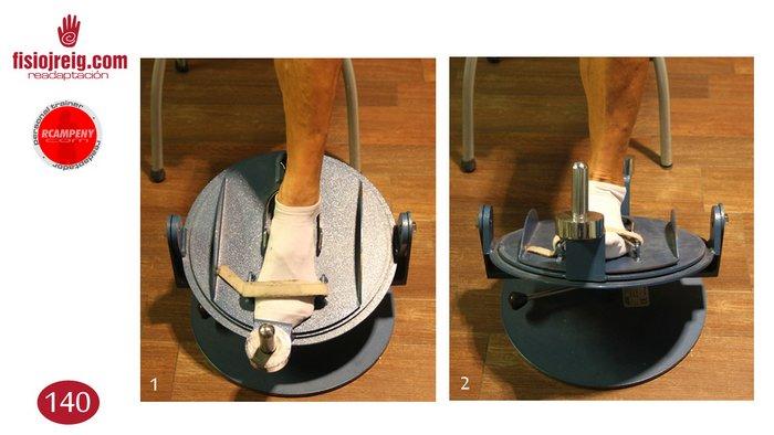 Potenciación de tobillo en máquina