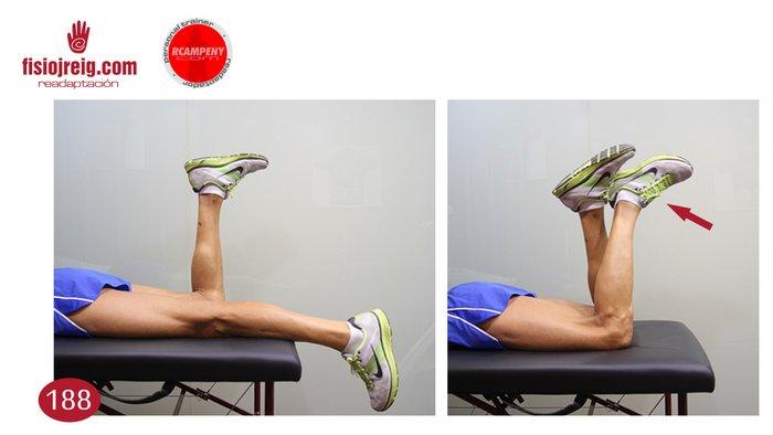 Trabajo flexión rodilla operada