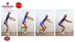 Ejercicio de reeducación de rodilla