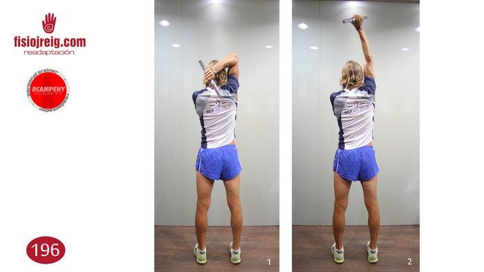 Ejercicio tonificación de triceps