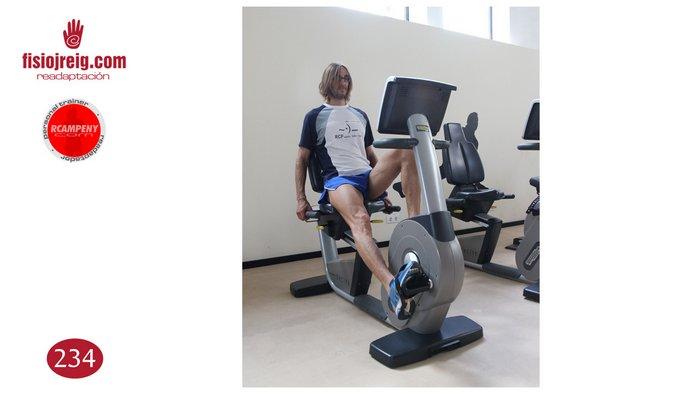 Ejercicio de bicicleta estabilidad lumbar