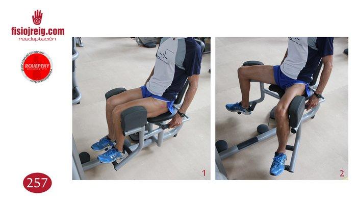 Ejercicio fortalecimiento músculos cadera