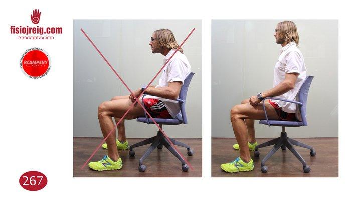 Higiene postural sentado
