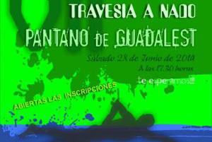 VII travesía a nado pantano Guadalest 2014