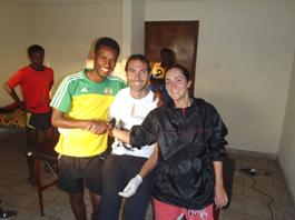 Ángeles Santos con Jordi Reig