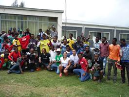 Atletas etíopes Bekoji