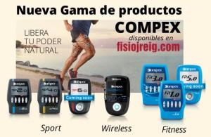Electroestimuladores Compex
