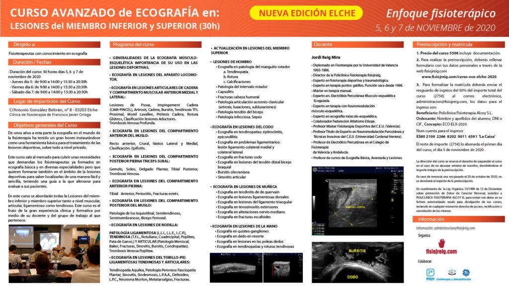 curso de ecografía en Elche