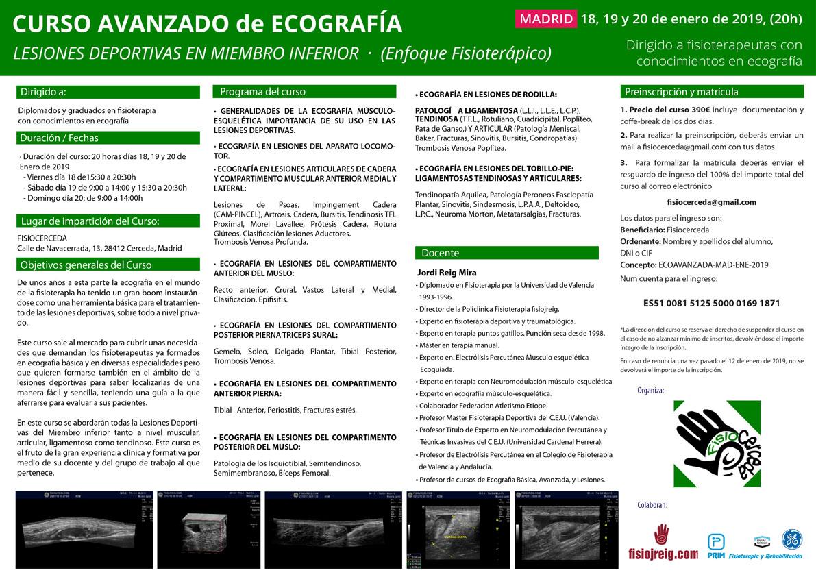 curso de ecografía madrid