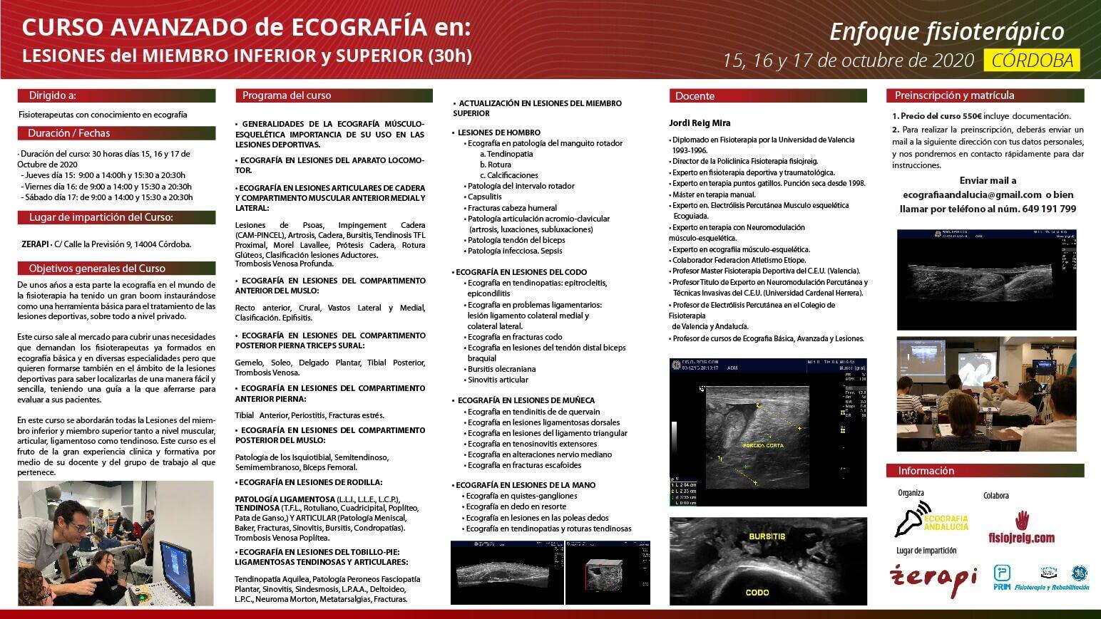curso ecografía Andalucia
