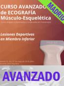 Curso de Ecografía Avanzado, Lesiones Deportivas en Miembro Inferior, Madrid 25, 26 y 27 mayo 2018 (20h)