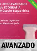 Curso de Ecografía Avanzado, Lesiones Deportivas en Miembro Inferior, Canarias 25, 26 y 27 mayo 2018 (20h)