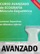 Curso de Ecografía Avanzado, Lesiones Deportivas en Miembro Inferior, Tenerife  21, 22 y 23 de septiembre 2018 (20h)