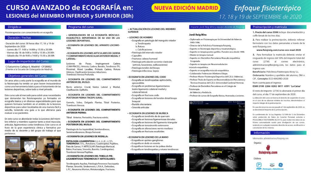 curso ecografía