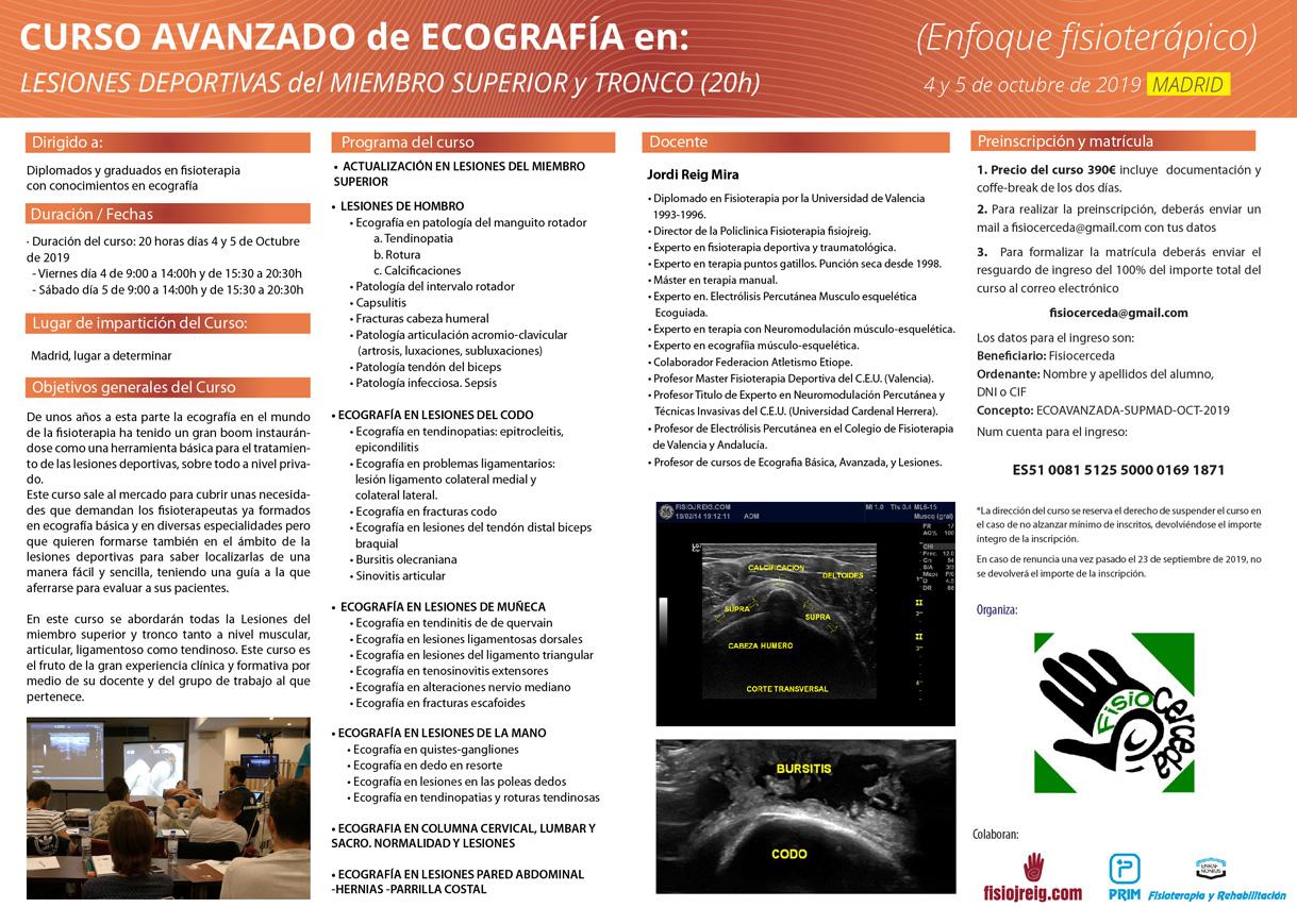 curso ecografia madrid