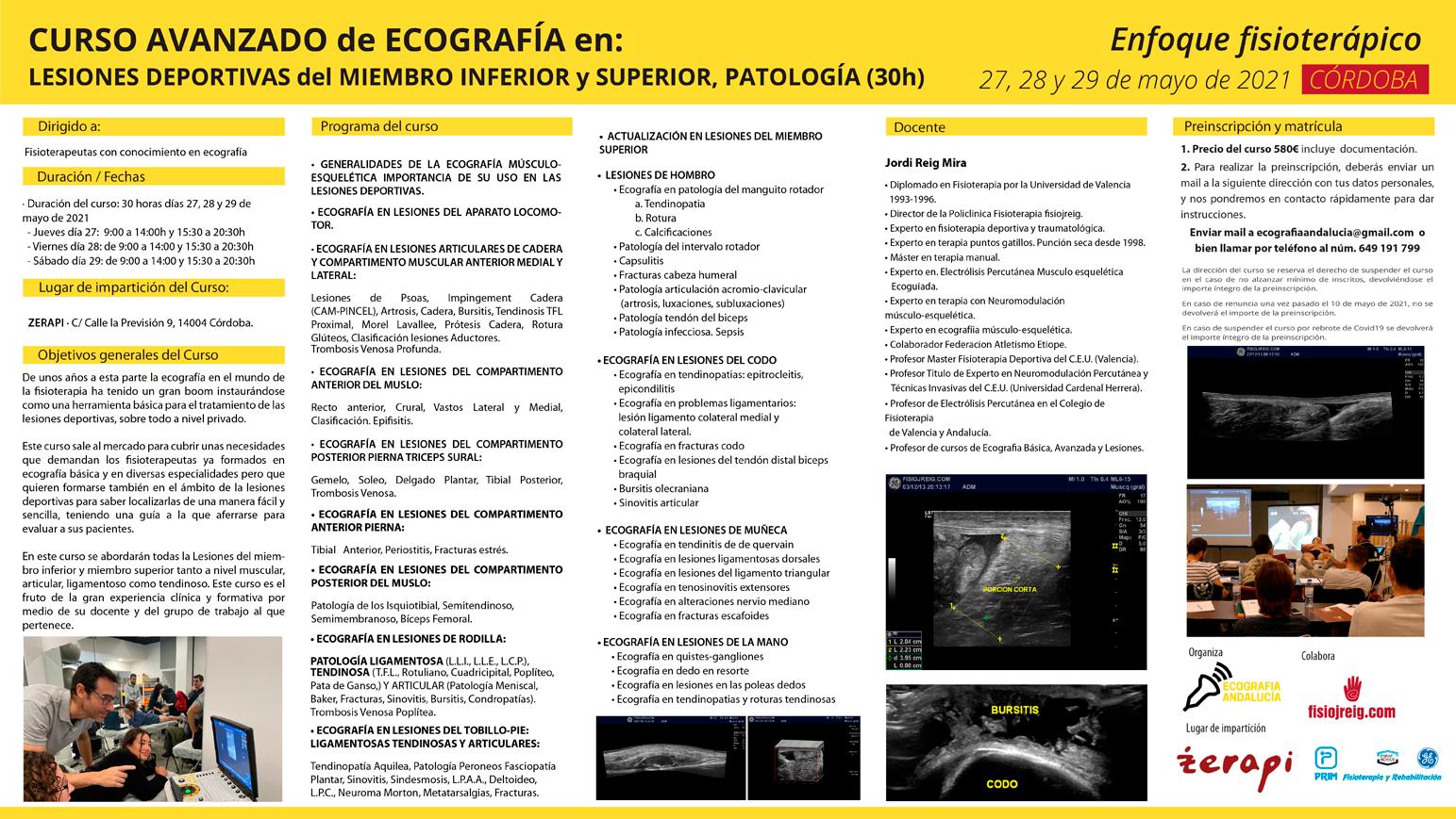 curso ecografia mayo Córdoba