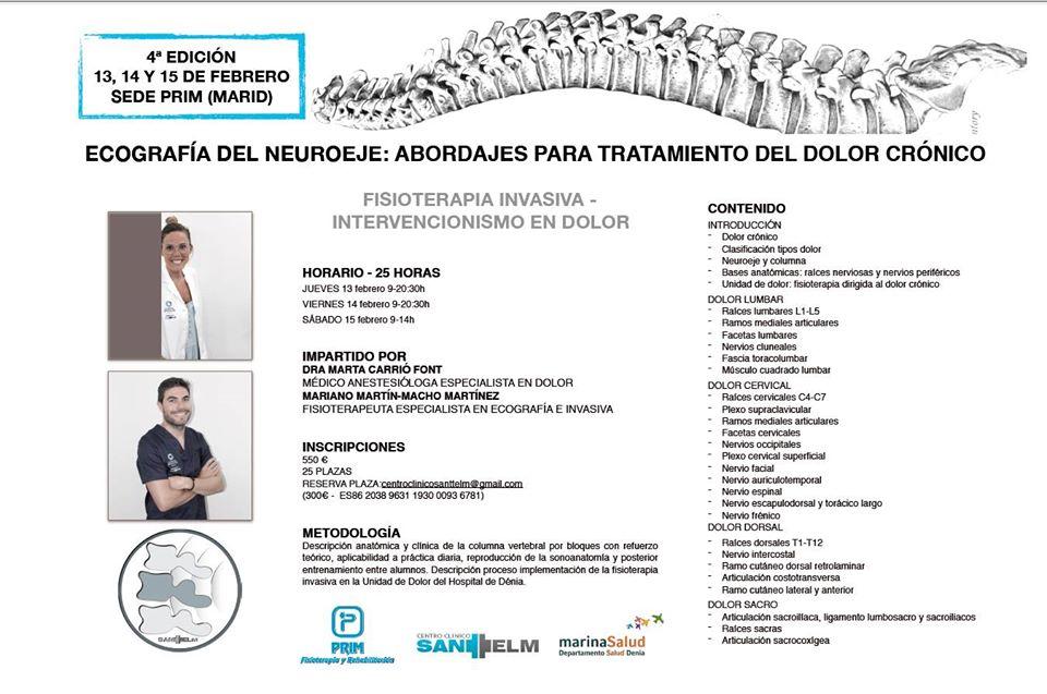 curso ecografía neuroeje