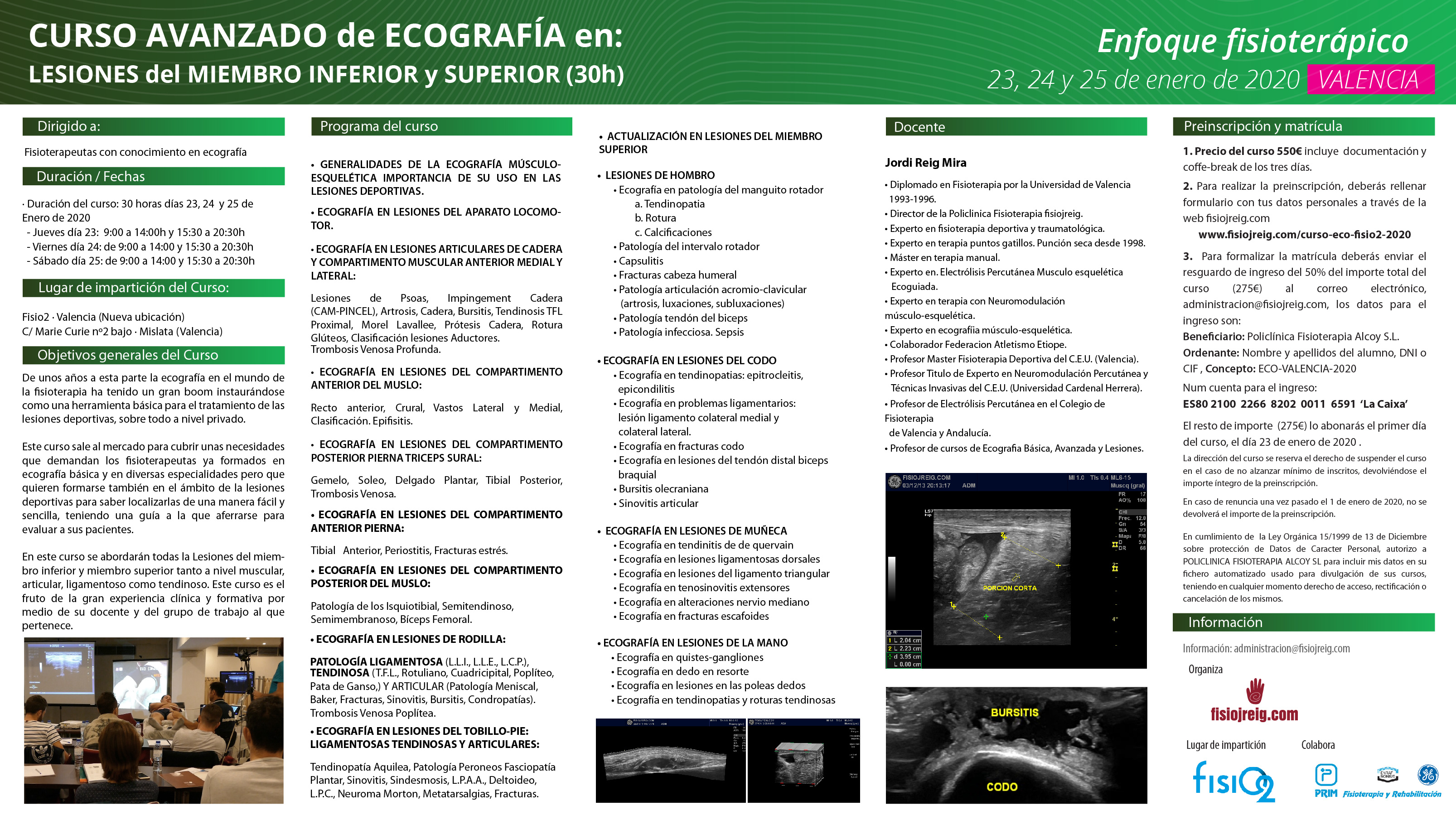 curso ecografia Valencia