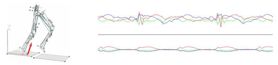 Datos del análisis biomecánico