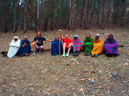 Gentes de bosque etíope