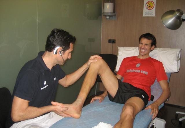Fisioterapia en tobillo