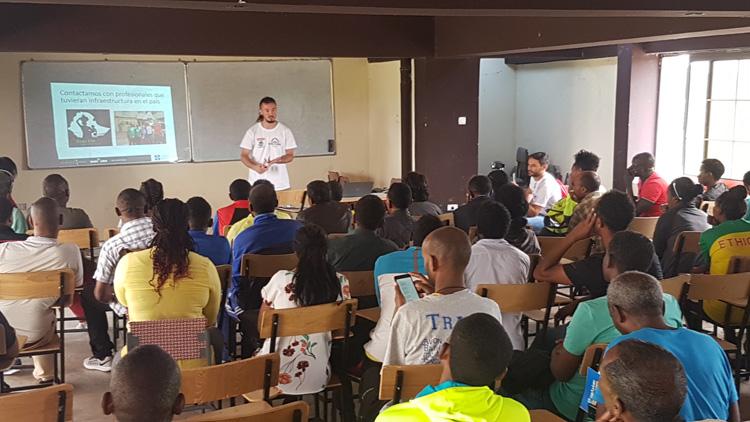 formación en Etiopía