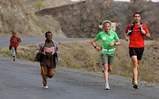 Jordi Reig y Jesús Calleja en Etiopía