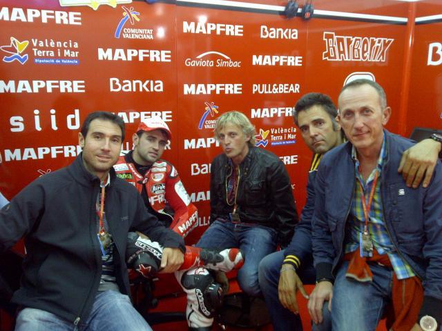 Moto GP Cheste 2011