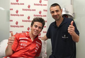 Nico Terol piloto de moto2