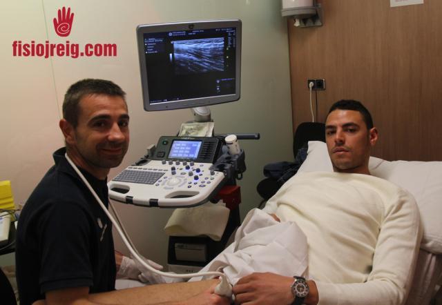 Nuestro fisio Alexis con Raúl Fabiani