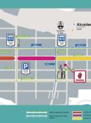 Calle Entenza cortada por obras, desde el lunes 6 de agosto