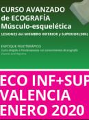 Curso de Ecografía Avanzado Lesiones en Miembro Inferior y Superior (30h) Días 23, 24 y 25 de Enero (Valencia)
