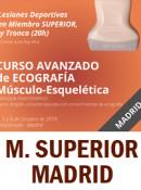 Curso de Ecografía Avanzado, Lesiones Deportivas en Miembro SUPERIOR en MADRID 4 y 5 de octubre de 2019 (20h)