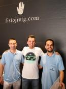 Rafa Valls se recupera en nuestro centro tras su accidente en el Giro de Italia