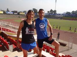 Raül Campeny y Jordi Reig en Etiopía