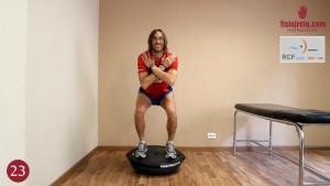 Rehabilitación tendón rotuliano ejercicios