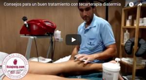 tratamiento con tecarterapia diatermia