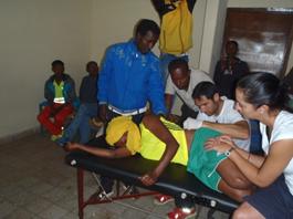 Tratamiento fisioterapia solidaria