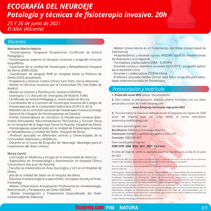 informacion curso ecografia